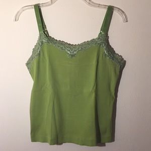 🔷Chico's🔷 Lime Green Tank Top - Size 1🔷